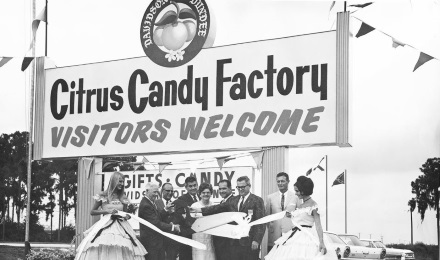 Old Photo of Citrus Candy Factory Grand Opening